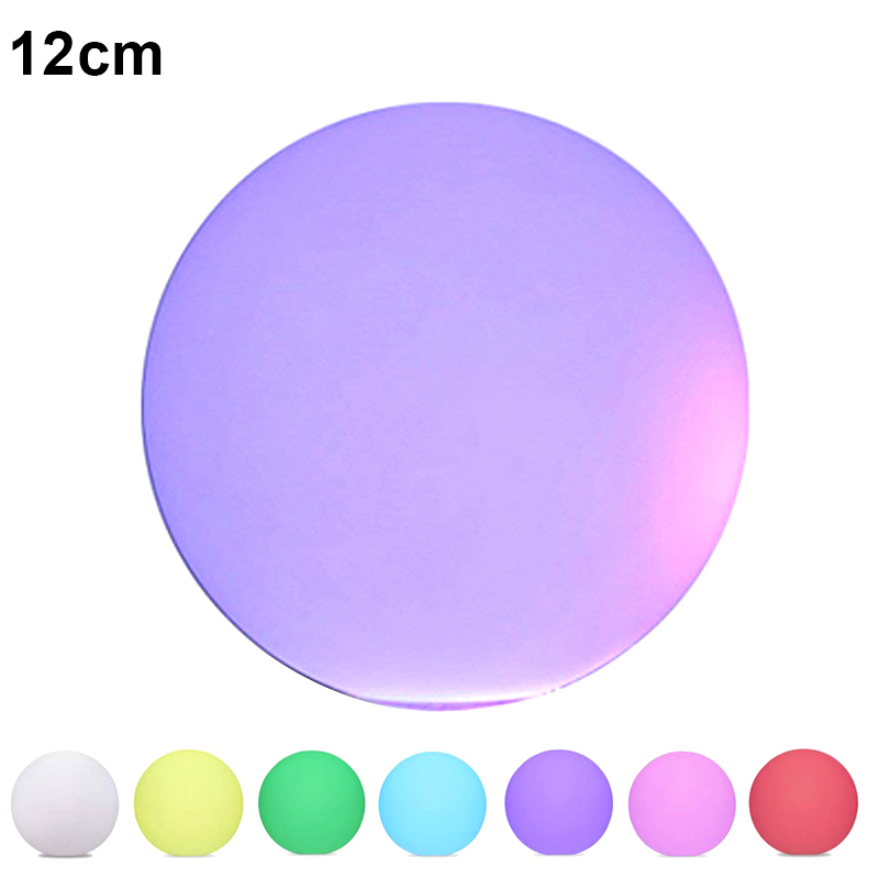 Solar LED Light Ball Cordless Night Lights with Remote Control Rechargeable Pool Floating Orb LB88
