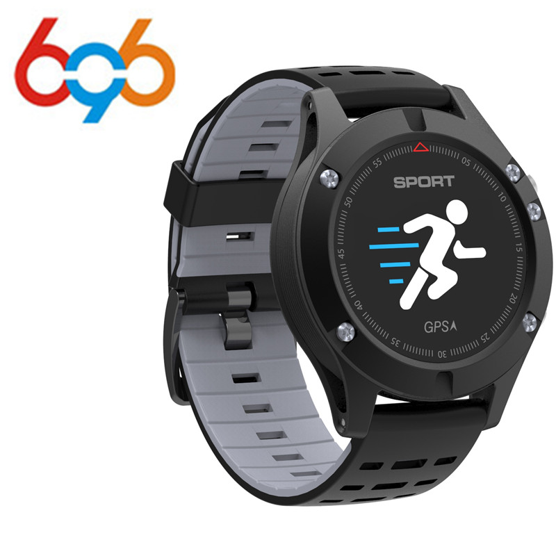 EnohpLX <font><b>No.1</b></font> <font><b>F5</b></font> GPS <font><b>Smart</b></font> <font><b>watch</b></font> Altimeter Barometer Thermometer Bluetooth Waterproof Smartwatch Wearable devices for iOS Android image