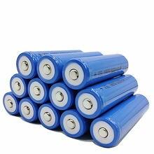 Pilha recarregável ncr 5000 mah 3.7 v 18650, pilha de íon-lítio para a capacidade real de 2200 mah