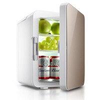 10L мини автомобиль домой двойной Применение холодильник постоянной Температура электрический холодильник Портативный холодильной устрой