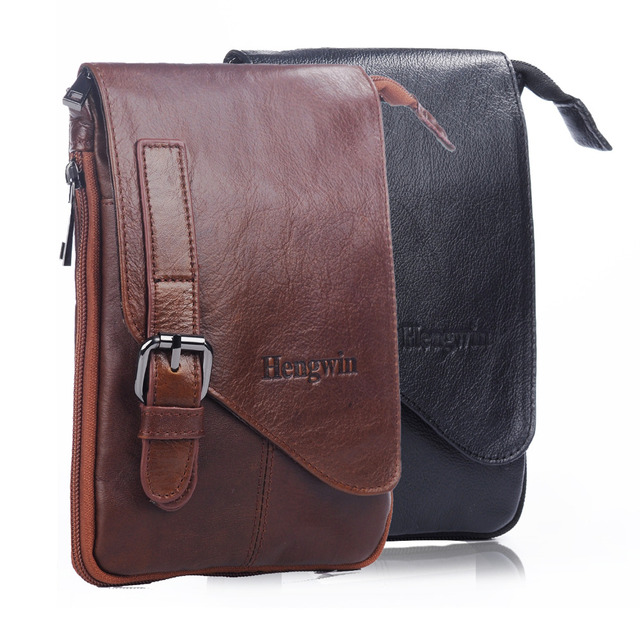 new style e446a c61d6 US $21.99 |Unisex Genuine Leather Vertical Belt Pouch iPhone 7 plus Holster  Small Crossbody Cellphone Purse Wallet Messenger bag-in Crossbody Bags ...