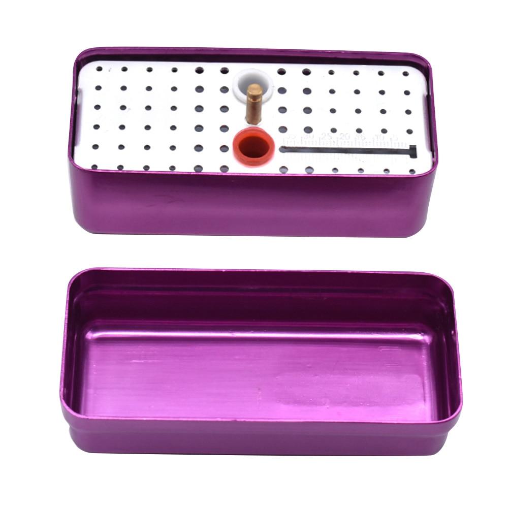 Dental Sterilize Box 68 Holes Endo  Endodontic Box Autoclavable Box With Measure Ruler Dental Tools Dentist Sterilization Box