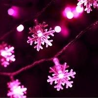 New Year String Light 10M 20M 5M 50M 100M Christmas Wedding Party Decoration Lights 5V 220V