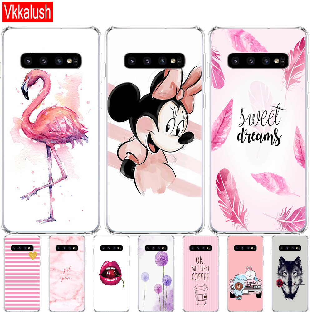 For Samsung Galaxy S10 Case S10Plus Case Silicon tpu Cover Phone S10 E Case on For Samsung S10 Plus G975F S 10 SM-G973F Case