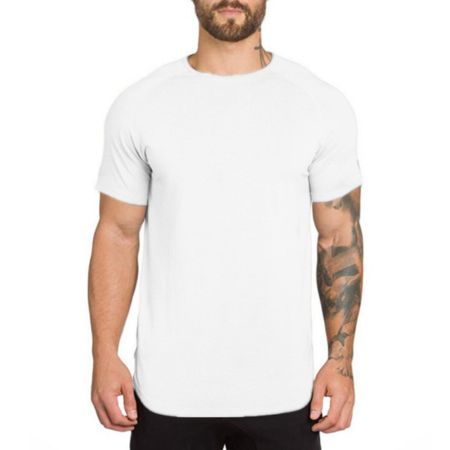 Men's Fitness Cotton T-Shirt