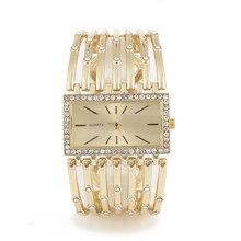 2020 мода повседневная Кварцевые наручные часы для женщин стильные роскошные дамы золотой браслет пояса часы женщин Леди подарок часы mujer