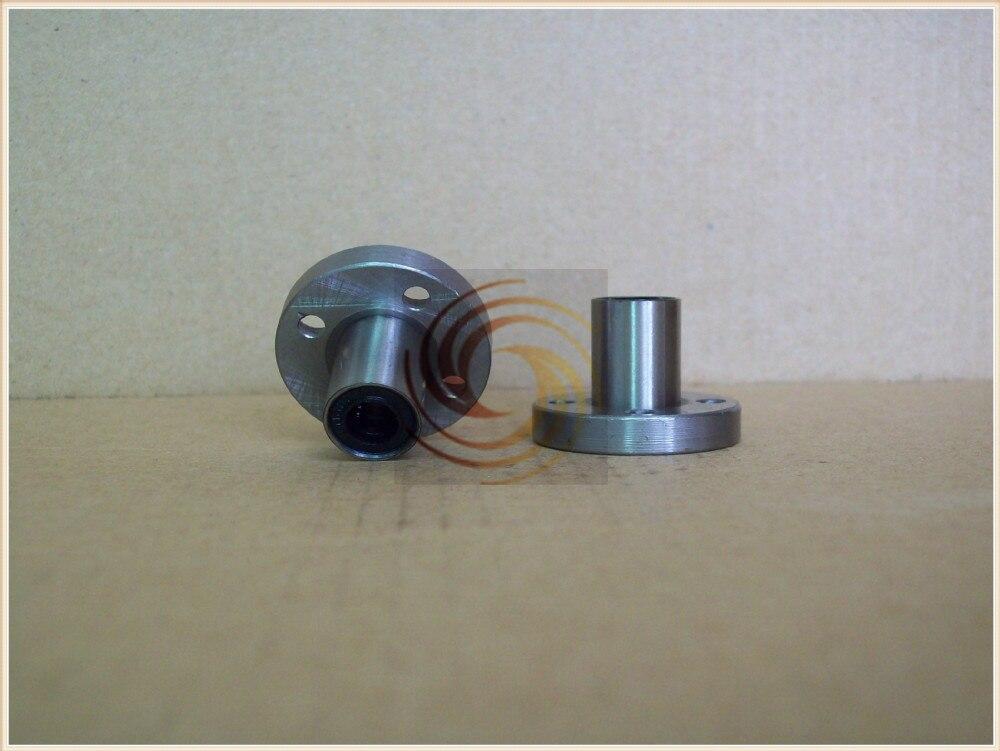 LMF80UU 80mmx120mmx140mm 80mm round flange linear ball bearing bushing for 80mm rod round shaft cnc part 1pcs 1pcs scv20 scv20uu sc20vuu 20mm linear bearing block bushing with lm20uu for cnc
