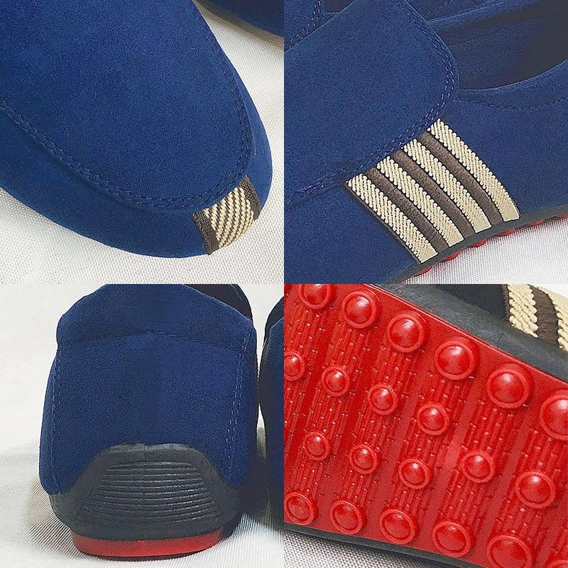 claro marfil Italia Diseño Zapatillas Bombas Hombre Rojo Retro Zapatos Acuden Negro Clásico Lona Casual Calidad azul oro Fondo Guisantes Mocasines Hombres Alta marrón multiple Marca gvC1qx