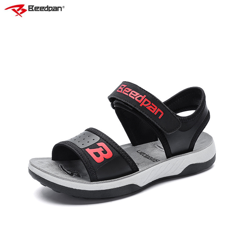 Beedpan Brand 2018 Hot Sale Children Summer Sandals Boys Beach Shoes Gladiator Leather Boy Sandals Flat Kids Toddler Boy Sandals