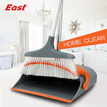 East New Fashion Luxury Broom Dustpan Kombinasjons Set Foldable Rengjøringsverktøy House Helper