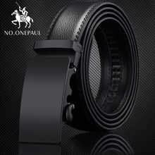 NO.ONEPAUL For Men Automatic Male Belts Cummerbunds Leather