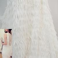 2017 חדשה חמה אופנה DIY בעבודת יד שמלת תחפושת בד בד רקמת נוצות כתוש טהורים חומר כרית בית תפאורה