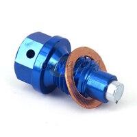 Motorfiets magnetische olieaftapplug bolt voor yamaha yz250 yz250x serow250 xg250 xt250x wr250r wr250x mt-25 mt-03 yzf-r3 yzf-r25