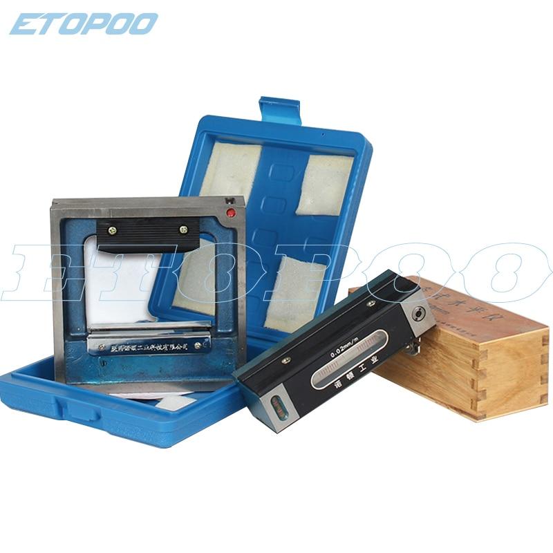 100 150 200 250 300mm bar frame level meter for equipment debugging Industrial measuring instrument