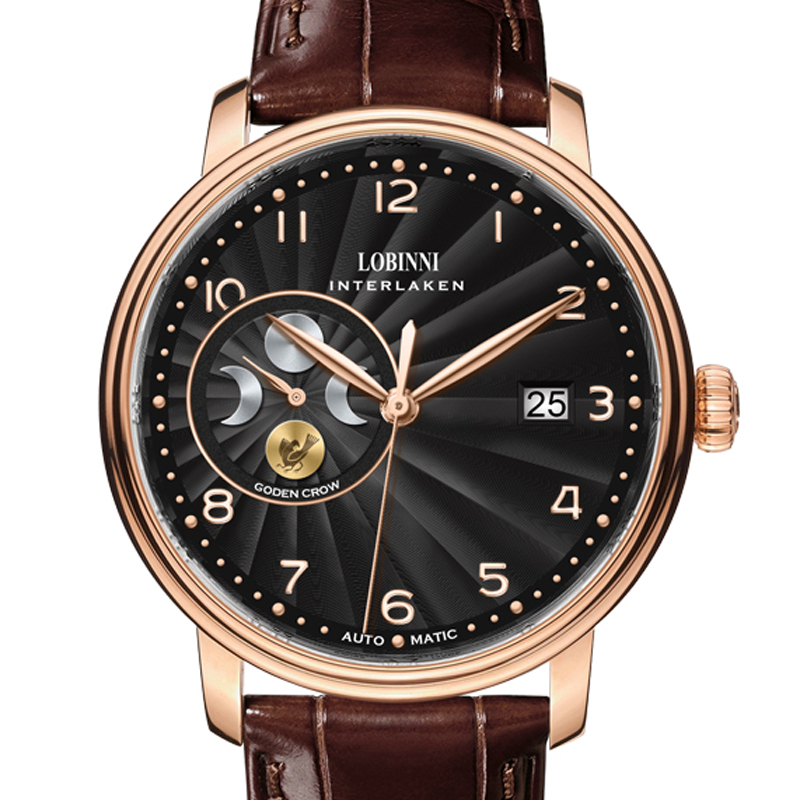 Top Luxury Brand LOBINNI  Watch Men Japan MIYOTA Automatic Mechanical Movement Mens Watches Sapphire reloj hombre L12030-4Top Luxury Brand LOBINNI  Watch Men Japan MIYOTA Automatic Mechanical Movement Mens Watches Sapphire reloj hombre L12030-4