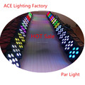 American DJ 8Channels LED Flat Par 7 x12W RGBW 4IN1 LED Lamp chandelier pendant light christmas lights