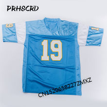 c8a898db636 Retro star #19 Lance Alworth Embroidered Throwback Football Jersey(China)