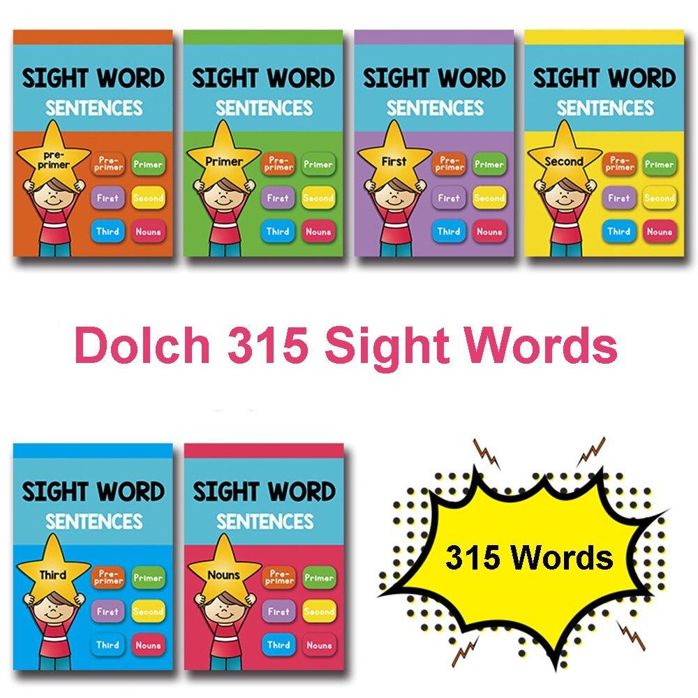315 pièces/ensemble mots de vue jeux de cartes d'apprentissage Puzzles pour enfants jouets pour enfants jeux de cerveau Juegos Educativos jouet éducatif précoce