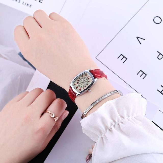 Women Watches bracelet watch ladies leather band Quartz ladies Watch 2018 drop shipping Relogio Feminino Gift  #D