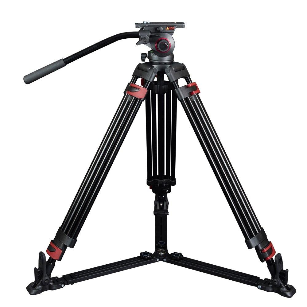 miliboo MTT609A Portable Aluminium font b Tripod b font for Professional Camcorder Video font b Camera