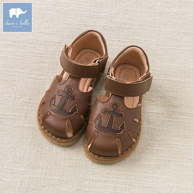 DB6753 Dave Bella del bambino di estate dei sandali del ragazzo scarpe per bambini-in Sandali da Mamma e bambini su AliExpress - 11.11_Doppio 11Giorno dei single 1