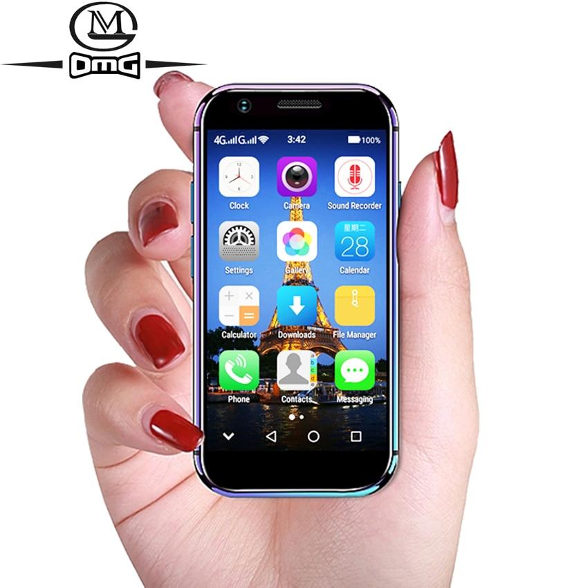 SOYES XS 3.0 plus petit petit Smartphone débloqué super mini téléphone android 6.0 4G téléphones mobiles MTK6737 Quad Core téléphone intelligent