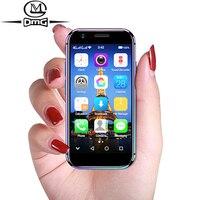SOYES XS cellular 4G mini phone unlocked celulares android 6.0 Smartphone MTK6737 Quad Core smart phone Dual sim cell phones