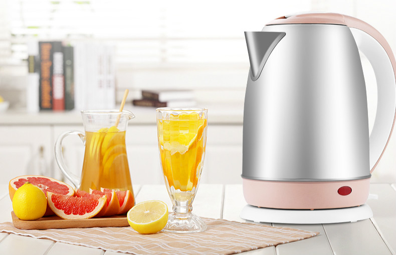 Import temperature control electric kettle 304 stainless steel heating  heat preservation Safety Auto-Off Function cukyi stainless steel 1800w electric kettle household 2l safety auto off function quick heating red gold