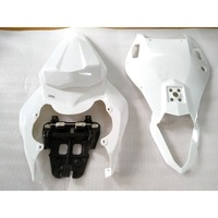 Unpainted White Motorcycle Rear Tail Fairing Cover for Yamaha YZF R6 2006 2007 06 07 Bodywork Part