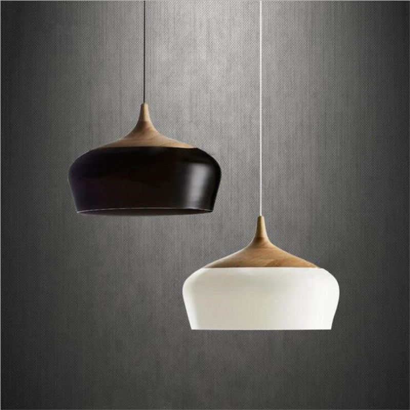 Modern Home Decoration Pendant Lamp Wood Japanese Style Restaurant Light Bedroom Light AC90-265V Free Shipping nothern europe black white color pendant lamp wood japanese style restaurant light bedroom light free shipping