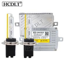 Hcdlt AC 55 Вт Xenon Canbus HID комплект H1 H7 H11 HB3 HB4 9012 D2H фар автомобиля ксеноновая лампа 5500 к Canbus DLT X5T Xenon HID балласт