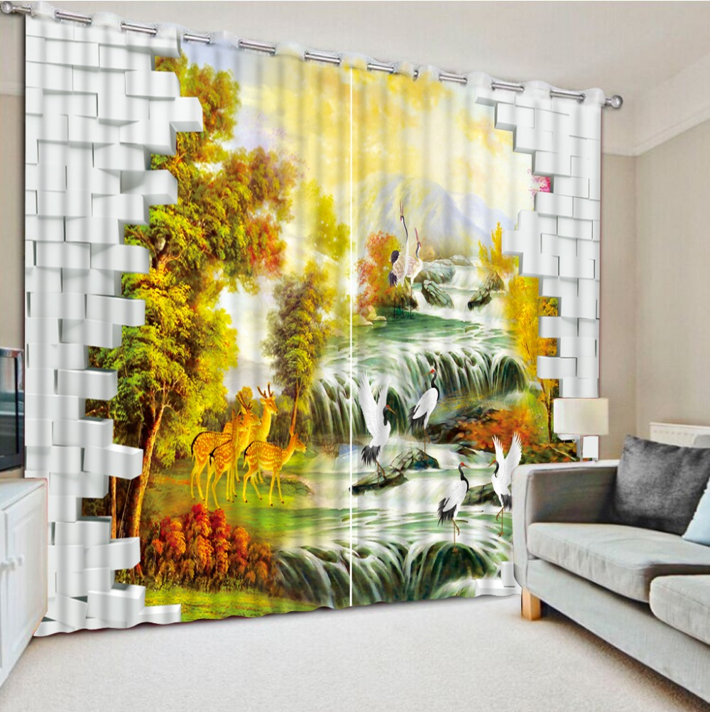 Scenery Curtains compare prices on scenery curtains for living room- online
