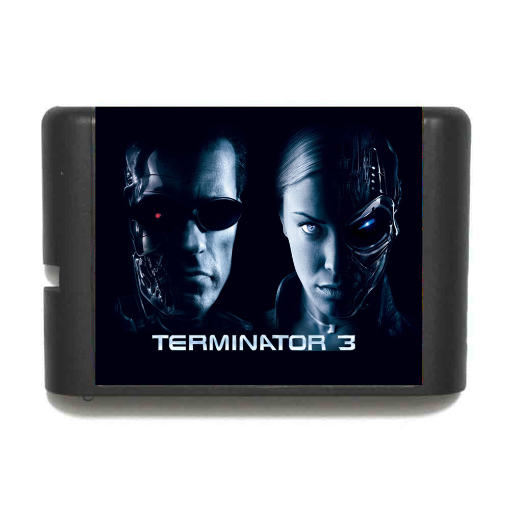 Terminator 3 16 bit MD Game Card For Sega Mega Drive For Genesis