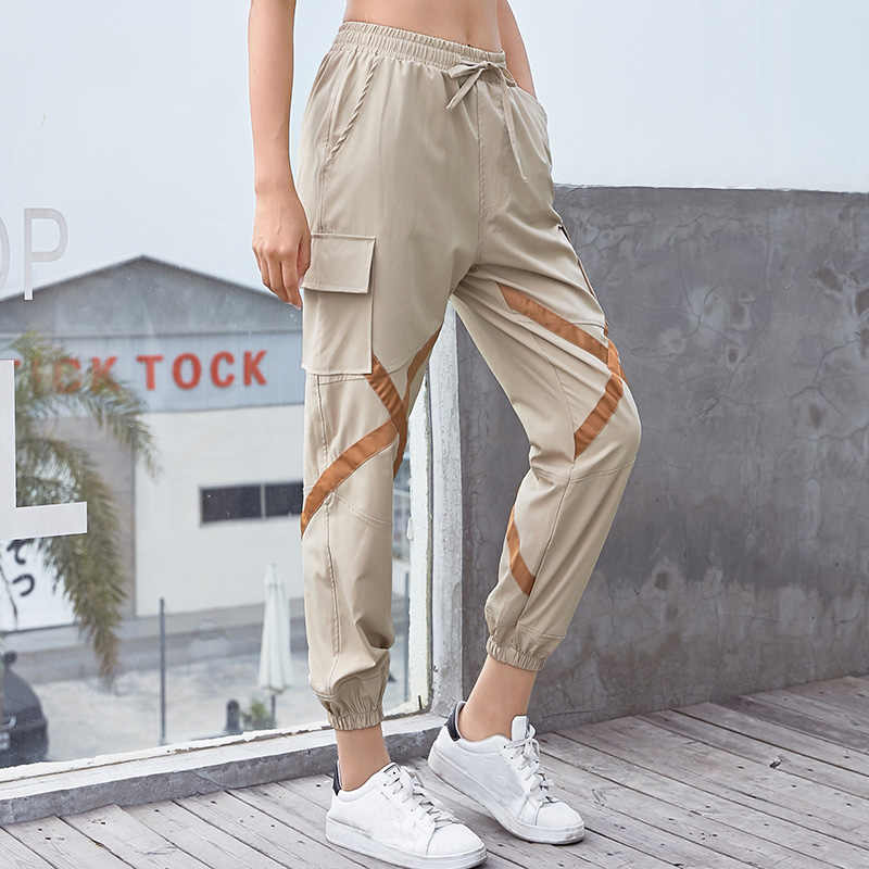 e49a1713dab Jogging Pants Femme Loose Sport Trousers Women Running Fitness Big Pocket  Exercise Training Pants Workout Sweatpants Sportswear