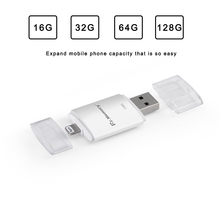 2 in 1 128gb pen drive for iphone 7 7plus Dr.Memory 16GB encrypted U disk for iphone 6 6s OTG USB Flash Drive 32GB 64GB pendrive