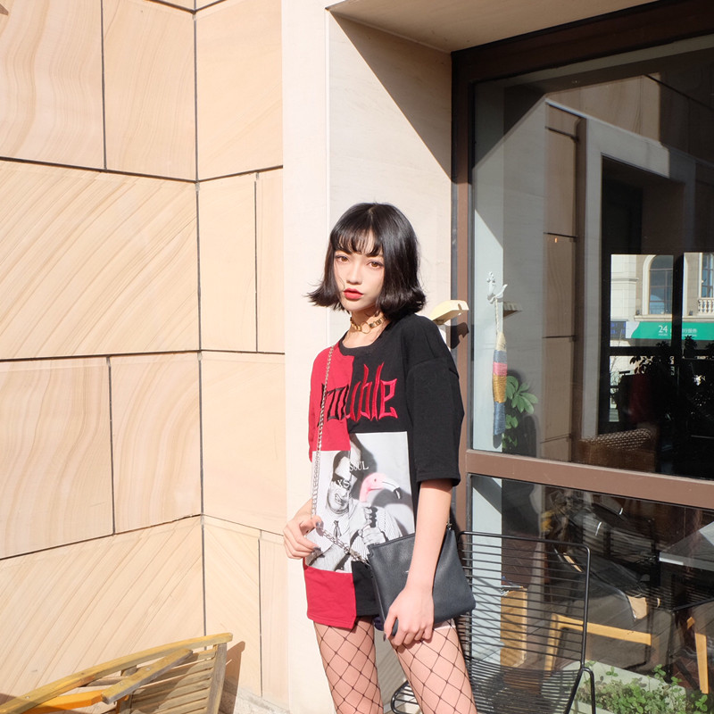 HTB1y5hHQpXXXXXYXXXXq6xXFXXXs - Kylie jenner Trouble T-Shirts Summer