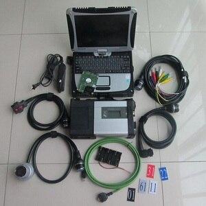 Calidad superalta mb star c5 con panasonic laptop cf-19(4G), diagnóstico Toughbook con Nuevo software 2020,6 hdd para mb sd c5