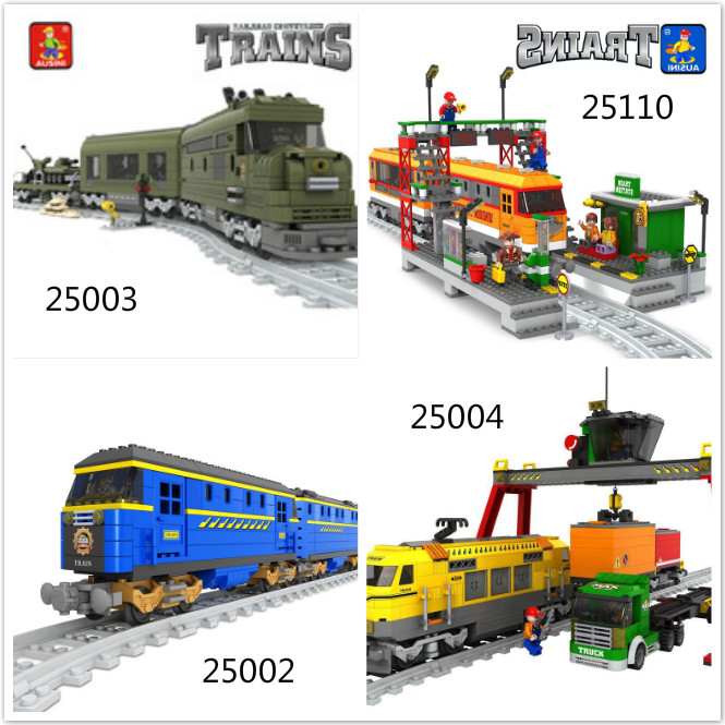 Model building kits compatible with lego ausini train succession 3D blocks Educational model building toys hobbies for children david sr grau succession planning for financial advisors building an enduring business