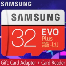 SAMSUNG EVO Plus Memory Card 32GB 64GB 128GB SDXC/SDHC class 10 Flash micro sd 256GB TF sdcard for smartphone/camera Original