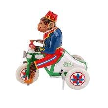 Забавная заводная обезьянка для верховой езды, модель автомобиля для детей, Развивающие игрушки, коллекционная игрушка в подарок