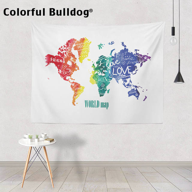 Colorful Bulldog 1
