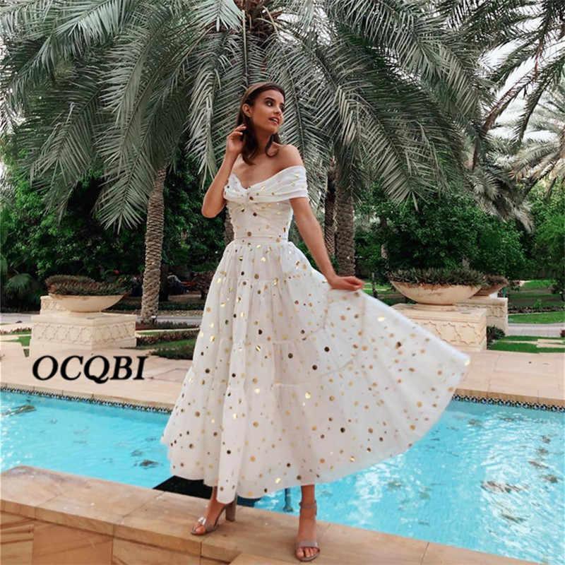 2019 женское летнее винтажное сексуальное платье вечерние платья в ночную точку Элегантное макси белое платье большого размера
