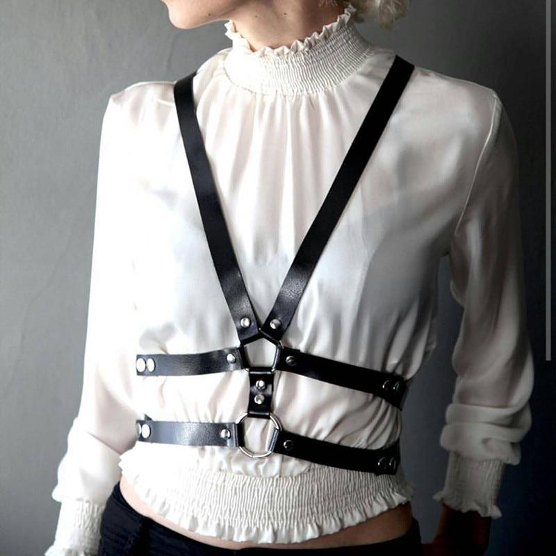 Belts For Women Harness Lingerie Bdsm Collar Jartiyer Sexy Pastel Goth Fantazi Seks Sexy Underwear Crop Top Arnes Mujer Garter