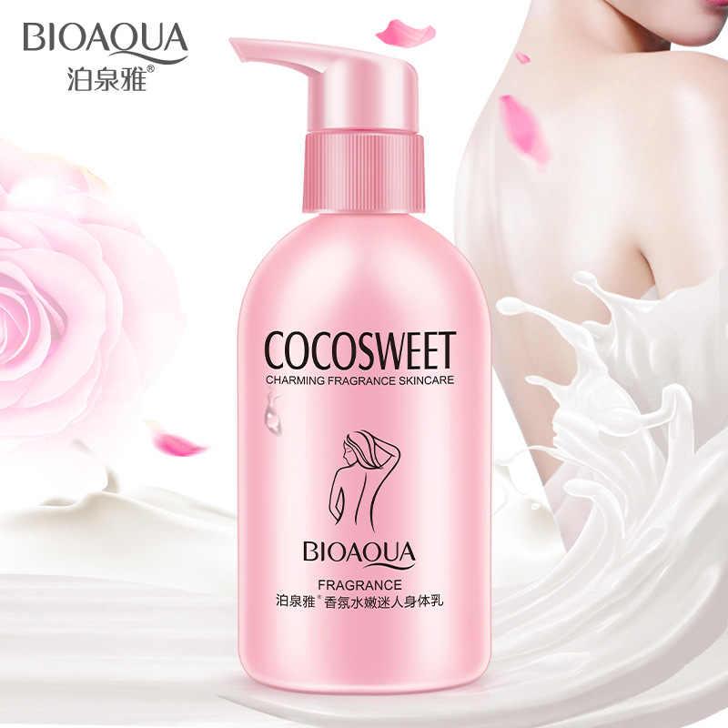 Fragrância encantadora corpo flexível leite hidratante sedoso loção corporal cuidados com a pele clareamento hidratante esfoliante creme de cuidados com o corpo
