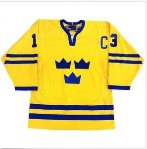 Embroidery Stitched Customize any number name Jerseys Vintage Team Sweden   13 MATS ba6e821ad