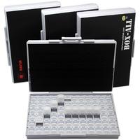 3 SMT Resistor Storage Box Enclosure 1206 0805 72 Compartments 198 Labels