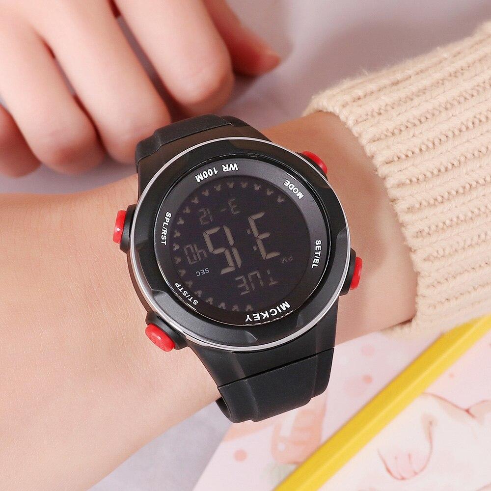 Disney enfants montre numérique 2019 sport étanche lumineux garçons montres horloge Mickey souris garçon montre-bracelet Hodinky montre enfant