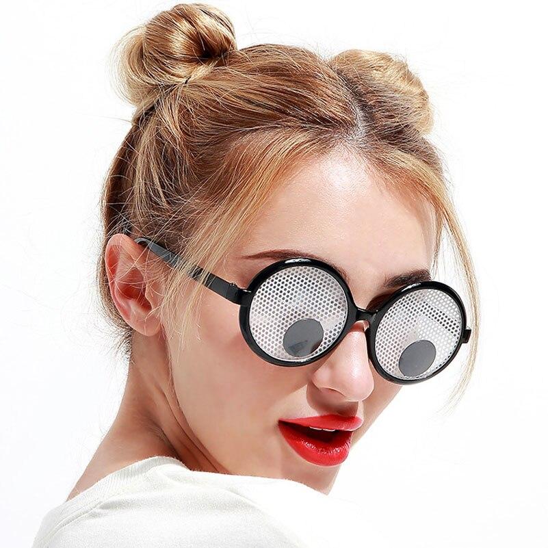 4cc98f9e8 Decoração de natal Engraçado Óculos de Olhos Arregalados Balançando Olhos  Vidros Do Partido e Brinquedos para a Festa de Cosplay Adereços Foto Do  Casamento ...