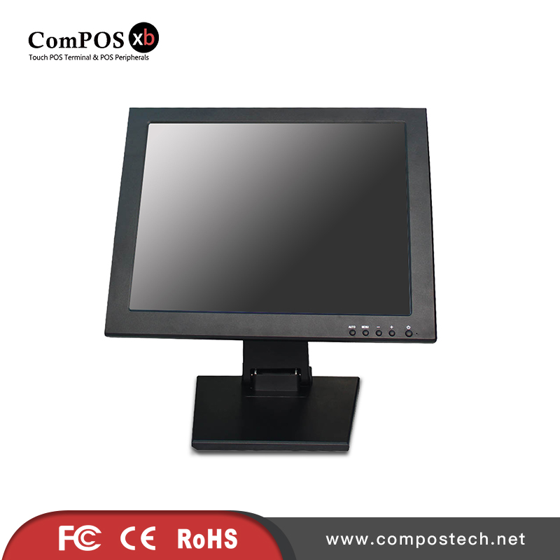 15 Inch LCD Touch Screen LCD POS Display Monitor For Point Of Sale Display-in LCD Monitors from Computer & Office    3