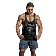 Стрингер майки бодибилдинг майка футболки фитнес мужские мужчины одежда и